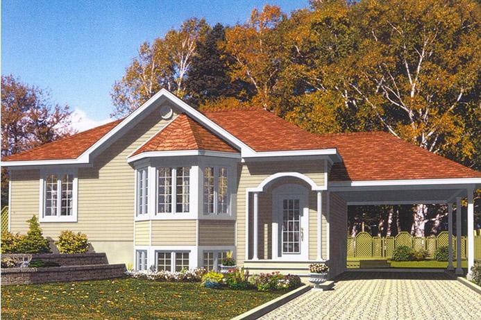 Mod les maisons drummond for Maison unimodulaire prix
