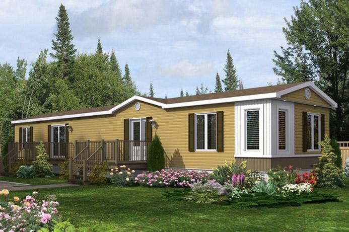 Maisons drummond maisons pr fabriqu es usin es plan maison chalet - Maison mobile neuve ...