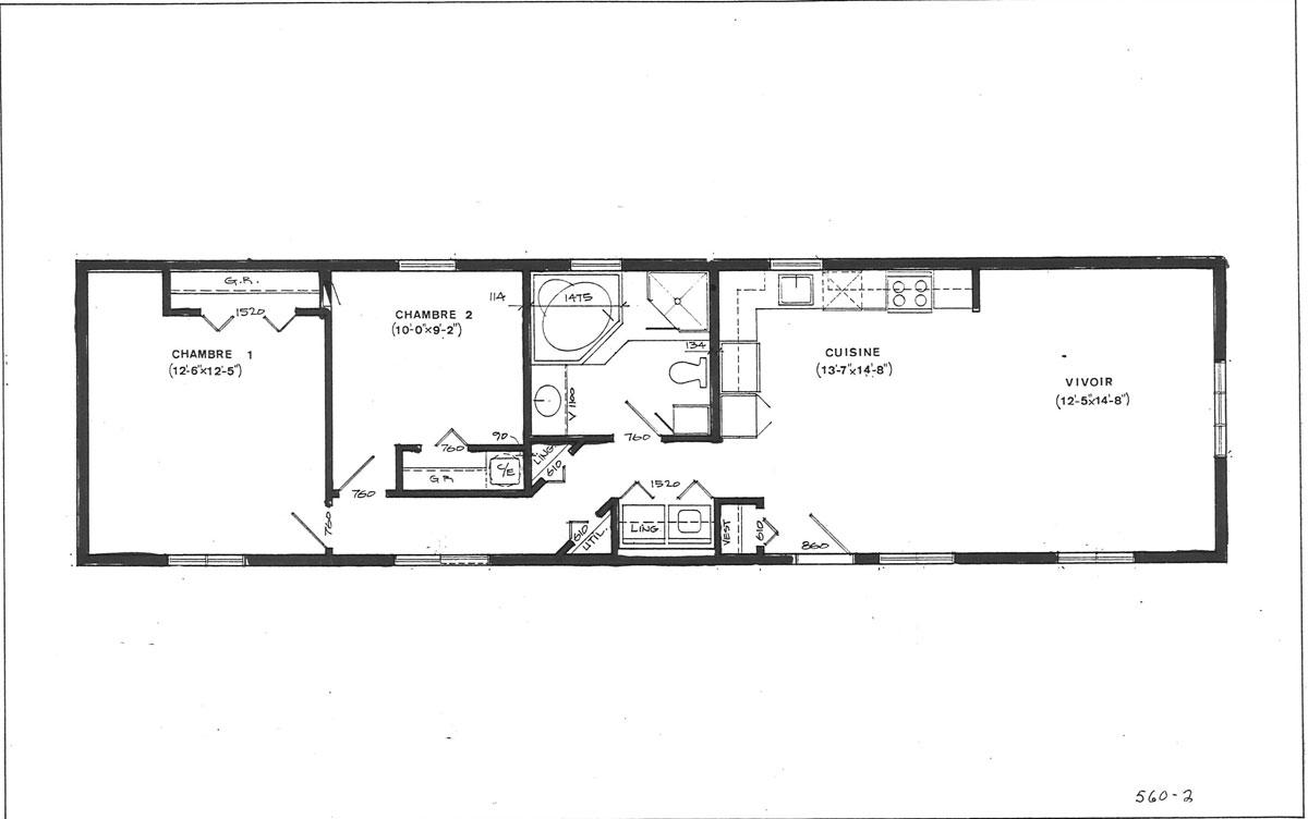 Belmont uni modulaires maisons drummond for Maison mobile neuve