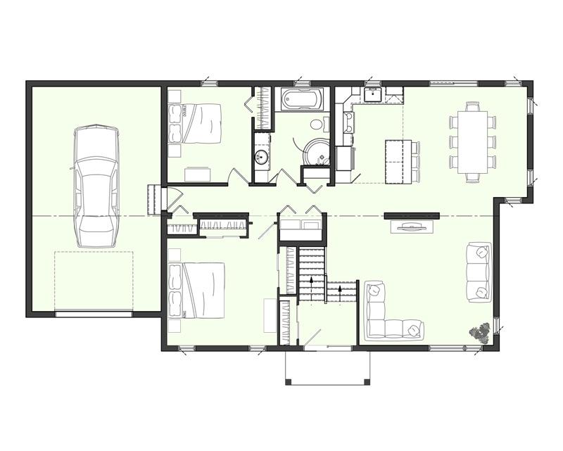 Estimation maison neuve estimation des matriaux main for Plan et prix maison neuve